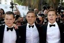 Matt Damon, George Clooney & Brad Pitt
