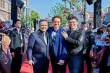 Joe Russo, Robert Downey Jr. & Anthony Russo (Shanghai)