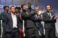 Josh Brolin, Chris Hemsworth & Tom Hiddleston (Hollywood)