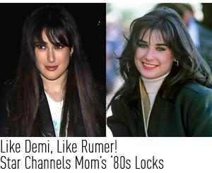 Rumer Willis, Demi Moore