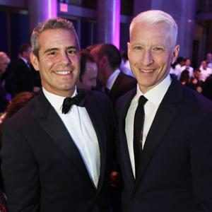 """See Andy Cohen and """"Daddy"""" Anderson Cooper Celebrate Twin Birthdays at Surprise Party"""