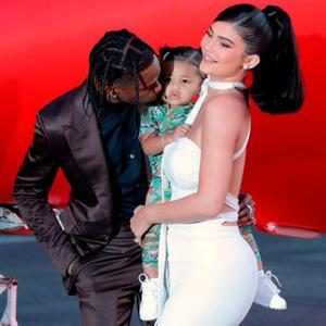 Kylie Jenner Shares New Photos of Stormi Webster & Travis Scott on Rapper's 29th Birthday