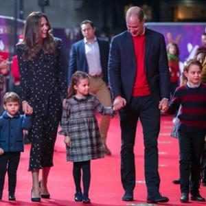 Kate Middleton, Prince William, Prince Louis, Princess Charlotte, Prince George