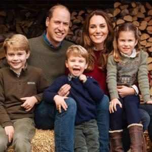 Christmas Card, Prince William, Duchess Kate Middleton, Prince George, Princess Charlotte, Prince Louis