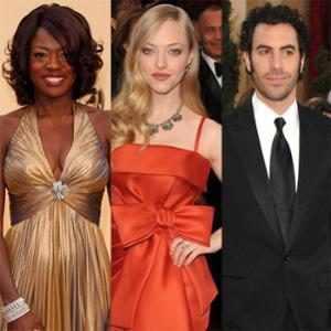 Viola Davis, Amanda Seyfried, Sacha Baron Cohen, Oscars Debut
