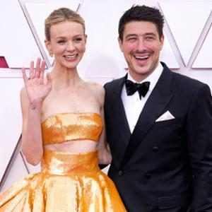Carey Mulligan's Husband Marcus Mumford May Have Taken a Lampshade From the Oscars