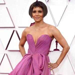 Halle Berry, 2021 Oscars, 2021 Academy Awards, Red Carpet Fashion