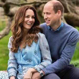 Kate Middleton, Prince William, 10th Wedding Anniversary Portrait