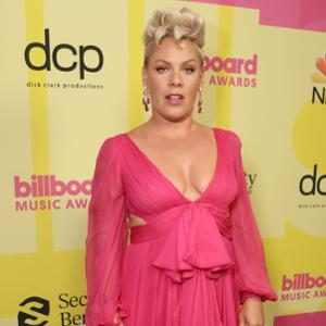 Pink and Her Kids Adorably Steal the Show at the 2021 Billboard Music Awards Red Carpet