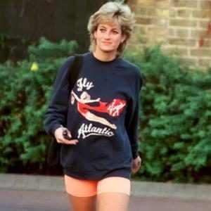 Princess Diana, Virgin Atlantic sweatshirt