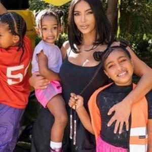 Kim Kardashian, North West, Chicago West, Instagram