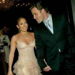 Ben Affleck, Jennifer Lopez, 2002 Maid in Manhattan premiere