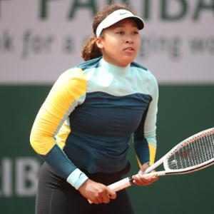 Naomi Osaka, preparation for the 2021 French Open Tennis Tournament