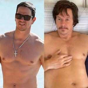 Mark Wahlberg and More Stars Who Underwent Drastic Physical Transformations For a Role
