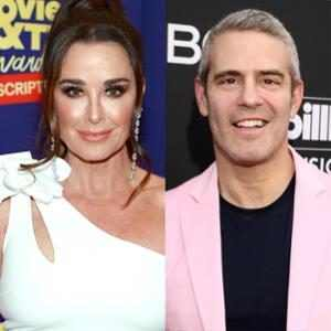Kyle Richards, Andy Cohen