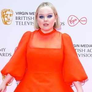 Nicola Coughlan, 2021 BAFTA TV Awards, Red Carpet