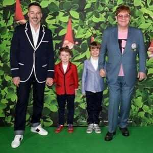 David Furnish, Elton John, Elijah, Zachary