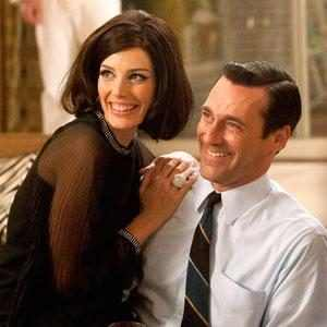 Jessica Pare, Jon Hamm, Mad Men