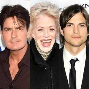 Charlie Sheen, Holland Taylor, Ashton Kutcher