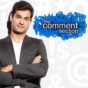 The Comment Section Show Package Landing Page Brick