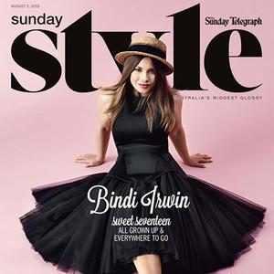 Bindi Irwin, Sunday Style