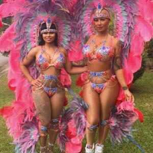 Blac Chyna, Amber Rose, Festival, Mardi Gras