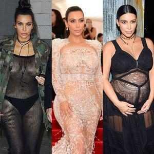 Kim Kardashian, Nude
