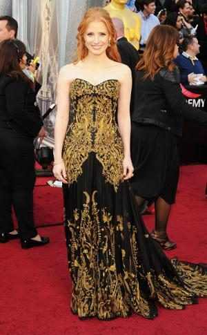 Jessica Chastain, First Academy Awards