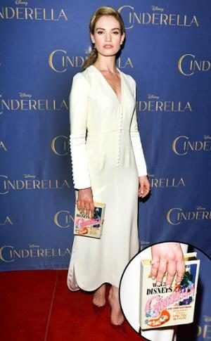 Lily James, Star Clutches