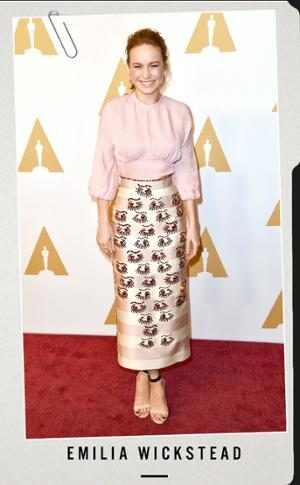 Brie Larson, Academy Awards Nominee Luncheon, Style File