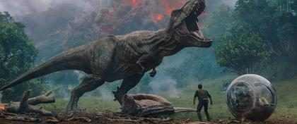 Los dinosaurios vuelven a enfrentarse a la extinción en el nuevo tráiler de Jurassic World: Fallen Kingdom
