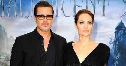 OMG! ¡Brad Pitt y Angelina Jolie se reconciliaron!
