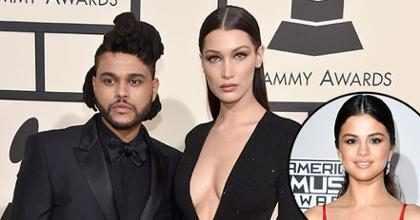 Y así The Weeknd le deja claro a Bella Hadid que ya es historia