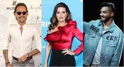 Alicia Machado lanzó una crítica homofóbica al beso que Marc Anthony le dio a Maluma