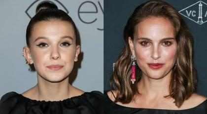 Natalie Portman y Millie Bobby Brown no solo se parecen… ¡También se visten igual!
