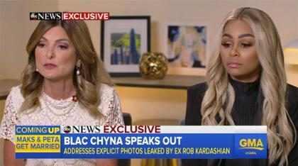 "Blac Chyna está ""devastada"" por la venganza pornográfica de Rob Kardashian"
