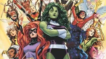 Marvel anuncia Avengers com personagens femininos