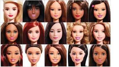 Barbie lança bonecas com oito tons de pele e que usam rasteirinhas!