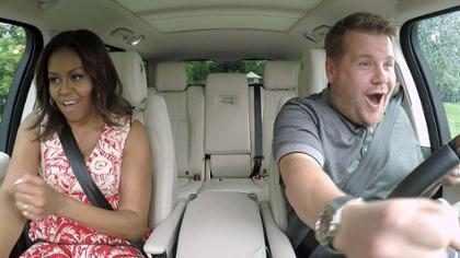 Michelle Obama canta Beyoncé em karaokê no carro