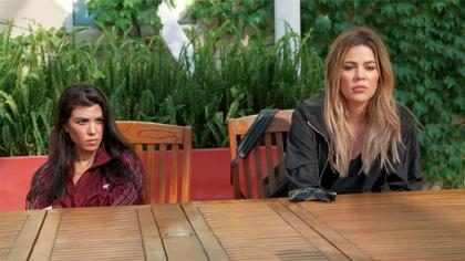"""Khloé Kardashian estalla contra Kourtney y asegura que es """"una molestia"""" ¡Mira por qué!"""