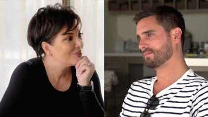 Kris Jenner somete a Scott Disick a un incómodo interrogatorio sobre su relación con Sofia Richie ¡Mira!
