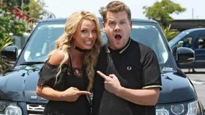 Britney Spears hizo el Carpool Karaoke con James Corden y aquí tienes un adelanto (+ Video)