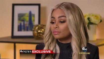 """Blac Chyna """"teme"""" por el próximo movimiento de Rob Kardashian"""