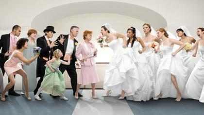 Os perrengues que já aconteceram em casamentos de famosos