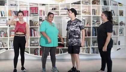 Giovanna Ewbank arrasa dançando funk com amigos em vídeo