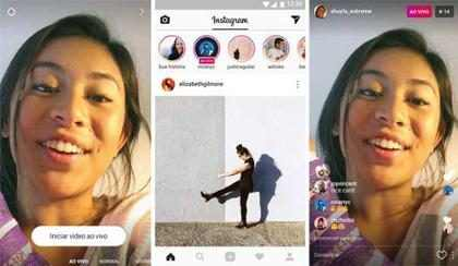 Instagram anuncia vídeos ao vivo e envio de directs aos usuários
