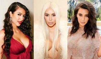 51 estilos que han pasado por la cabeza de Kim Kardashian (+ Fotos)