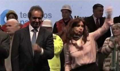 Los pasos de baile de Cristina Kirchner enloquecieron Internet (+ Video)