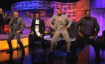 (+ Video) ¡La esperada reunión del Príncipe del rap!