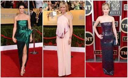 SAG Awards 2014 e os melhores e os piores looks das famosas